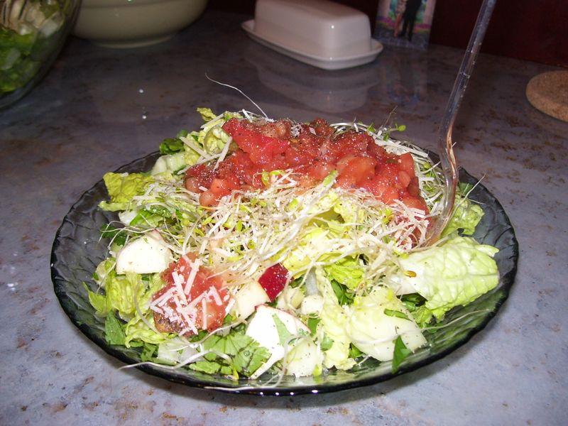 Yummy chop salad