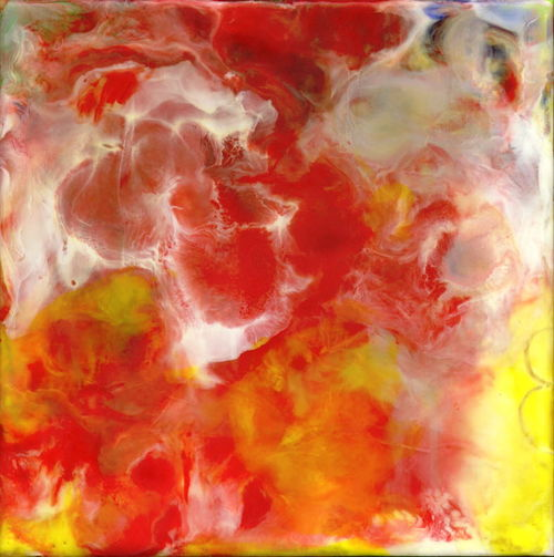 Encaustic Abstract Left100