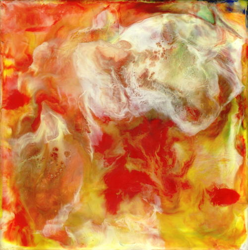Encaustic Abstract Right100